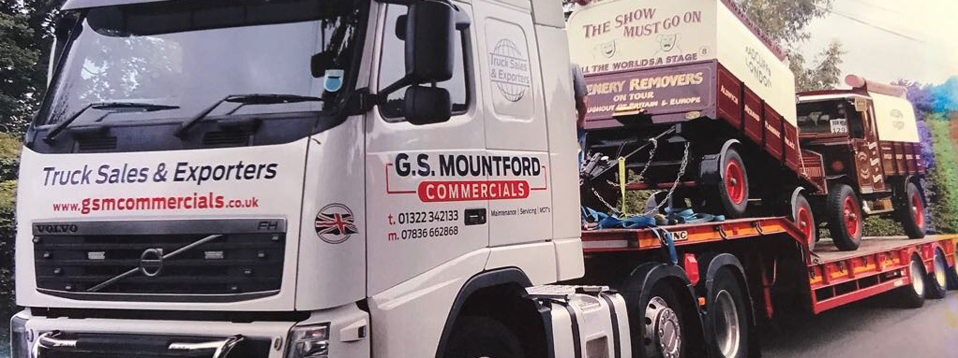 GS Mountford Lorry
